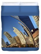 The Bean - 1 - Cloud Gate - Chicago Duvet Cover