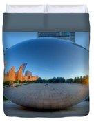 The Bean In Chicago Duvet Cover