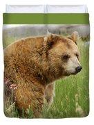 The Bear Dry Brushed Duvet Cover