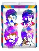 The Beatles Art Duvet Cover