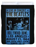 The Beatles Live At The Hollywood Bowl Duvet Cover