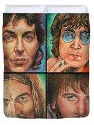 The Beatles Quad Duvet Cover