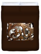 The Beauty Of Brass Scrolls 1 Duvet Cover