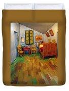 The Bedroom Of Van Gogh At Arles Duvet Cover