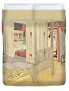 The Bedroom, Published In Lasst Licht Duvet Cover