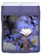 The Bee And The Dragonfly Duvet Cover
