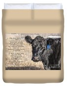 The Beef Industry Duvet Cover