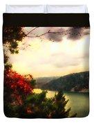 The Beginning Of Autumn Duvet Cover