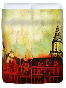 The Belfries Of Belgium And France  Duvet Cover