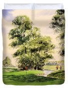 The Belfry Brabazon Golf Course 10th Hole Duvet Cover
