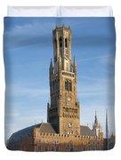 The Belfry Of Bruges Duvet Cover