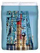The Bells Of Coney Island Duvet Cover