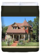 The Benefield House Jefferson Texas Duvet Cover