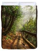 The Benton Trail Duvet Cover