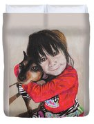 The Best Of Friends Duvet Cover