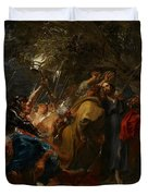 The Betrayal Of Christ Duvet Cover by Anthony Van Dyck