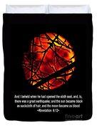 The Bible Revelation 6 Duvet Cover