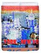 The Big Apple Duvet Cover