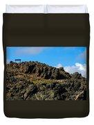 The Big Climb Duvet Cover