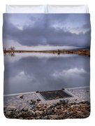 The Big Drain Duvet Cover