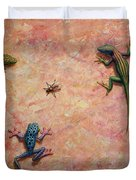 The Big Fly Duvet Cover