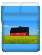 The Big Red Barn Duvet Cover