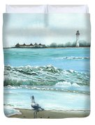 The Big Wave Duvet Cover