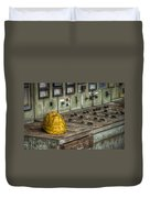 The Big Yellow Hat Duvet Cover