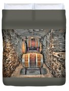 The Biltmore Estate Wine Barrels Duvet Cover