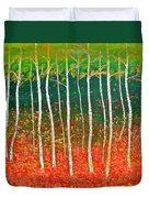 The Birches Duvet Cover