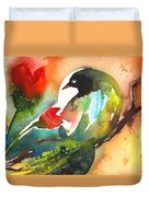 The Bird And The Flower 03 Duvet Cover