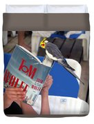 The Bird Brain Duvet Cover