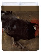The Black Cock Duvet Cover