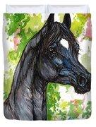 The Black Horse 1 Duvet Cover