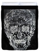 The Black Skull - Oil Portrait Duvet Cover