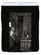 The Blacksmith 2 Monochrome Duvet Cover