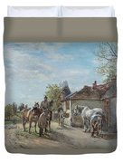 The Blacksmith Duvet Cover