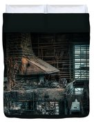 The Blacksmith's Forge - Industrial Duvet Cover