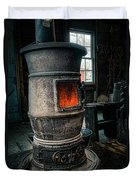 The Blacksmiths Furnace - Industrial Duvet Cover