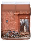 The Blue Bicycle Duvet Cover