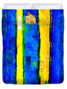 The Blue Doors Of La Rue Des Fauves Duvet Cover