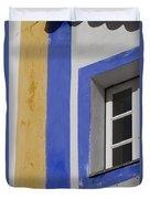 The Blue Framed Window Duvet Cover