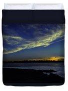 The Blue Hour Sunset Duvet Cover