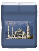 The Blue Mosque In Istanbul Duvet Cover