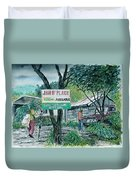 The Blue Mountains Of Jamaica Duvet Cover