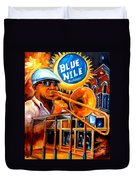 The Blue Nile Jazz Club Duvet Cover