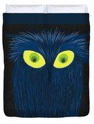 The Blue Owl Duvet Cover