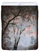The Blue Trees Duvet Cover