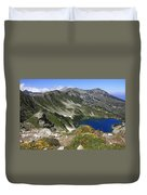 The Blue Vasilashko Lake Pirin National Park Bulgaria  Duvet Cover