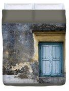 The Blue Window Duvet Cover